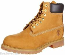 """Men's Timberland 6"""" Premium Nubuck Boots 10061 New In Box with blemishes"""