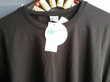 BE PRESENT YOGA Flow t-shirt eco NWT fitness bamboo black brown xs s med womens