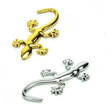 3D Gecko Shape Chrome Badge Emblem Decal Car Sticker HOT SALE