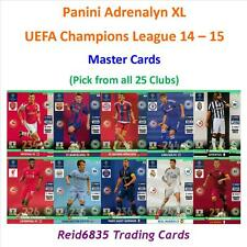 Adrenalyn XL Champions League 14 - 15 = Master Cards (Free P&P)