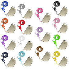 Amzer Detachable Cell Phone Mobile Neck Lanyard Strap ID Card Key Ring Holder