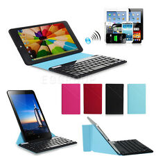 Ultra Thin Bluetooth Keyboard + PU Leather Case Cover For HP Stream 7 Tablet PC