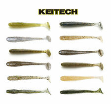 "KEITECH SWING IMPACT SWIMBAIT 3"" (7.6 CM) 10 PACK select colors"