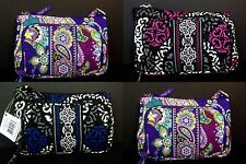 NWT VERA BRADLEY LITTLE HIPSTER in CANTERBERRY MAGENTA, COBALT, & HEATHER