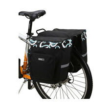 Cheap Black Bicycles Rear Seat Bag Travel Bag Cycling Bag Bike Riding Equipment