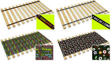 FC914 NEW TWIN SIZE BED SLATS CUSTOM WIDTH THEMED WOOD SUPPORT BOARD PLATFORM