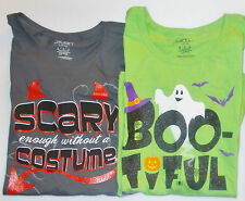 Walmart Girls Halloween T-Shirts 2 Styles to Choose Sizes Large and XLarge NWT
