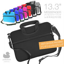 "13.3"" Anti-Shock Thick Padding Laptop Messenger Bag Carrying Sleeve Case Cover"