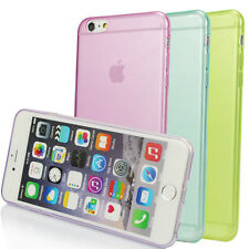 For Apple iPhone 4S 5S 6 6Plus Ultra Thin Clear Soft Gel Fitted Case Skin Cover