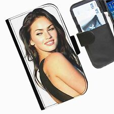 Megan Fox Leather wallet phone case for Samsung Galaxy Active Alpha Note