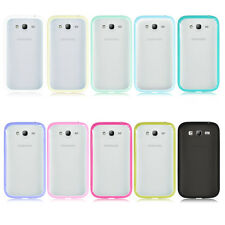 Soft TPU Bumper Hard Clear Case Cover For Samsung Galaxy Grand Duos i9080 i9082