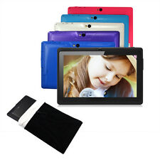 """7"""" Quad Core 16GB Tablet PC Google Android 4.4 Capacitive WiFi Dual Camera +Bag"""