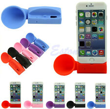Silicone Horn Stand Amplifier Speaker Loudspeaker Fr Apple iPhone 6 5 5S 4 4S