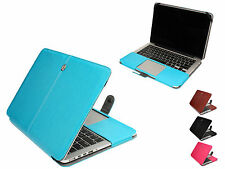 Slim Anti-dust PU Leather Sleeve Skin Bag Cover For MacBook PRO 13.3 inch Laptop