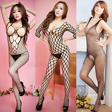 Women Sexy Fishnet Sex Toys Lingerie Underwear Nightwear Babydoll Dress G-string