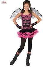 Teen Girl Night Wing Spider Costume Halloween Costume Fancy Dress Up Goth