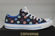 Women's Converse Chuck Taylor OX Multi-Colored Polka Dot Graphite 542567F