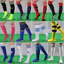 Men's Sport Football Soccer Above Knee Tube Durable Sock Stockings 20 Colors