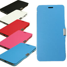 Slim Flip Magnetic Housse Coque Etui Cuir PU Dur Hard Case Cover Pr Smarphones