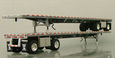 TRAILER ONLY - DCP WILSON FLATBED 1/64 MULTIPLE CONFIGURATIONS AVAILABLE