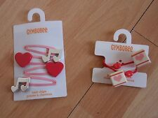 NWT GIRLS GYMBOREE PLAY BY HEART PONYTAIL HOLDERS, HAIR CLIPS