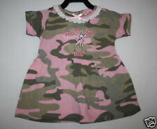 PINK CAMO CAMOUFLAGE EMBROIDERED DRESS-CHOOSE SIZE!