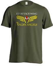 Space: Above and Beyond - Angry Angels 127th Attack Wing Military TV T-shirt