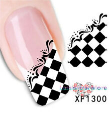 New 3D Nail Decors Water Transfer Nail Art Decal Seals Sticker French Decoration