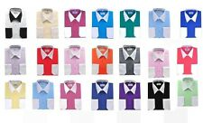 Two tone Dress shirts by Berlioni Italian shirts, high quality, many colors