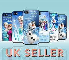 Disney Frozen iPhone Case Cover for Mobile Phone Range Quotes