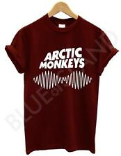 ARCTIC MONKEYS T SHIRT SOUNDWAVE AM INDIE ROCK BAND MUSIC TOUR MUSIC NEW UNISEX
