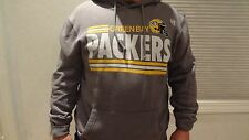 NWOT NFL Men's Green Bay Packer's Pullover Khaki Hoodie - Sizes XL & 2XL