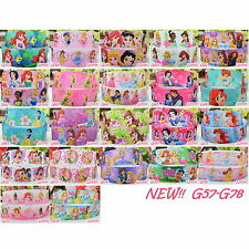 "2 5 10 50 Yards DISNEY PRINCESS 22mm 7/8"" Grosgrain Ribbon Craft Wholesale G5778"