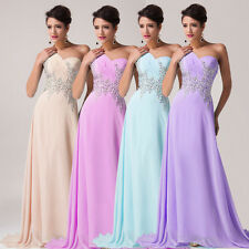 2015 CHEAP~ Chiffon Bridesmaid Dress Wedding Evening Formal Gowns Prom Dresses