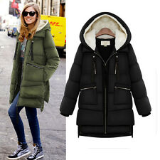New winter women coat big yards loose hooded long down jacket