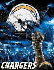San Diego Chargers Helmets. NFL Helmets Cross Stitch Pattern. Paper vers.or PDF.