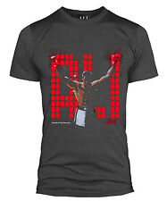 OFFICIAL MUHAMMAD ALI CHAMPION BOXING CASSIUS CLAY T SHIRT GYM TOP MENS PA014