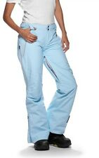 Womens Oakley Moving Gore-Tex Snow Ski Snowboard Pants Crystal Blue M L XL