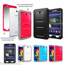 Samsung Galaxy Tab 4 8 8.0 Unibody Dual Layer with Screen Protector Case Cover
