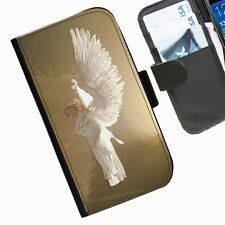 Angels Leather wallet phone case for Samsung Galaxy Active Alpha Note Edge