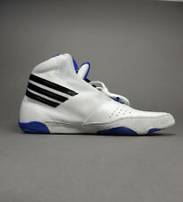 NEW Adidas AdiZero Sydney U42100 Wrestling Shoes White Royal Retail $95