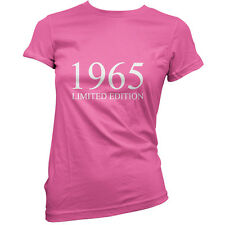 1965 Limited Edition - Womens 50th Birthday Present / Gift T-Shirt - 11 Colours