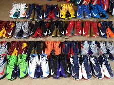 New Nike Vapor Talon Elite Hyperfuse TD 3/4 Mid Football Cleats NFL Team Colors