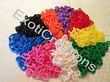 3mm Plastic Chain (Qty 25 ft) Bird Toy Parts Plastic Jewelry Chain