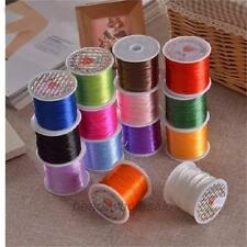 1Roll Strong Elastic Stretchy Cord Crystal Cord String Thread Craft DIY 25Colors