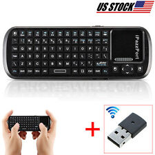 Small Wireless Keyboard Remote With Mouse And TouchPad For LG SMART TV Supported