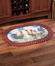 Braided Accent Rug Kitchen Entryway Traditional Carpet Horse Apple Rooster NEW
