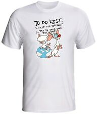 pinky and the brain shirt cartoon