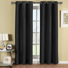 LUXURY ONE SOHO GROMMET TOP THERMAL INSULATED BLACKOUT WINDOW CURTAIN PANEL