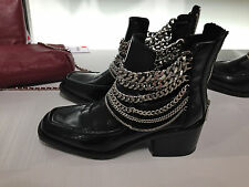 ZARA BOOTIE WITH CHAINS 36-41 Ref. 7102/301